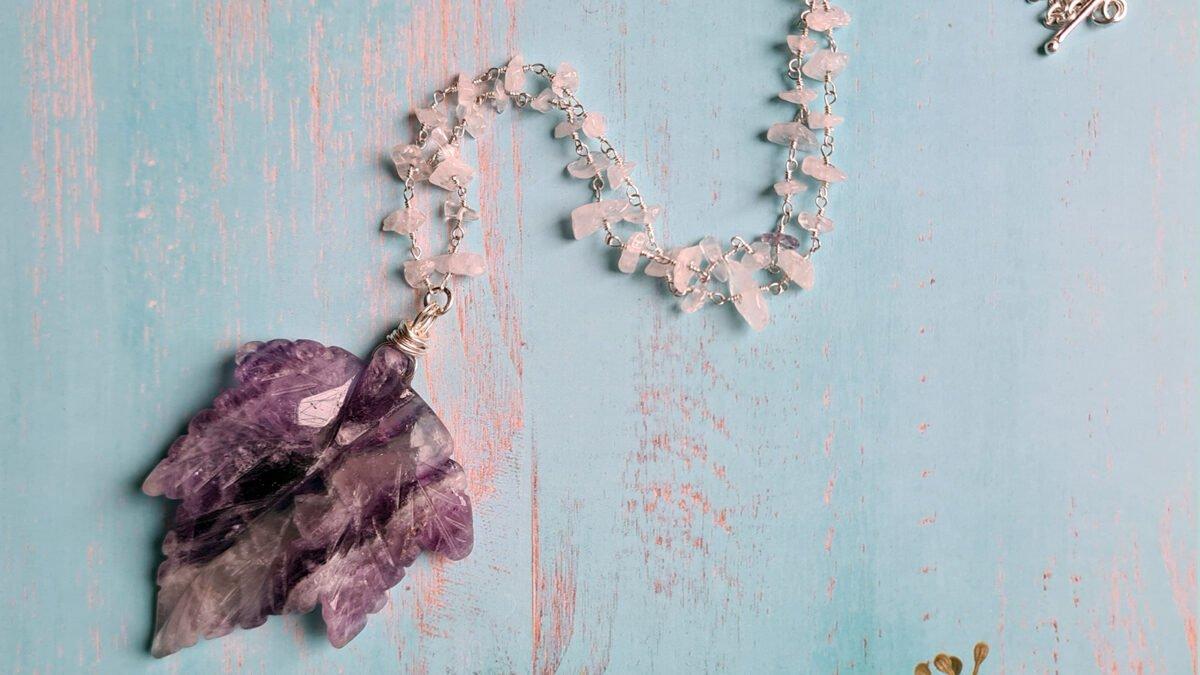 fluorite leaf necklace 1600 900 banner